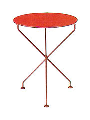 CONRAN SHOP [コンランショップ] VERANDA TABLE RED