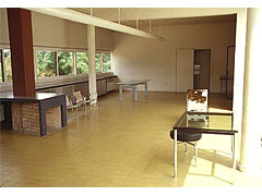 Le Corbusier [ル・コルビジェ] Villa Savoye,interior, living area