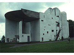 Le Corbusier [ル・コルビジェ] Notre Dame du Haut, Ronchamp, Exterior ロンシャン教会