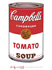Andy Warhol [アンディ・ウォーホル] Campbell's Soup I (Tomato), 1968