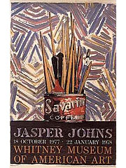 Jasper Johns [ジャスパー・ジョーンズ] Savarin Cans, Whitney Museum