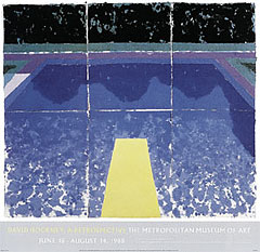 David Hockney [デイヴィッド・ホックニー] Day Pool With Three Blues